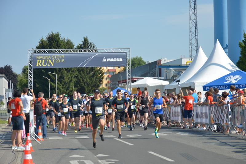Magna Steyr 3. Magna Run 2015, Incentive by KOOP Live Marketing Eventagentur in Graz