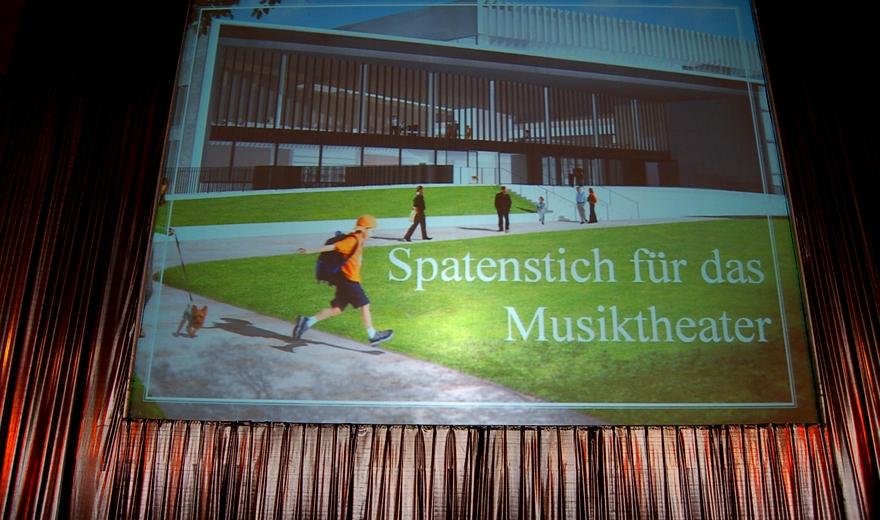 Musiktheater Linz Spatenstich, Eventorganisation by KOOP Live Marketing Eventagentur in Steyregg/Linz