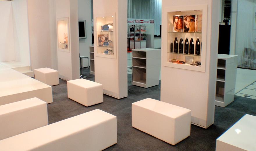 Great Lengths, Messebau by KOOP Live Marketing Messen in Graz, Wien, Steyregg/Linz