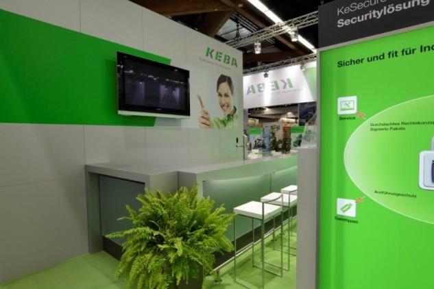 KEBA AG auf der SPS IPC Drive 2014, Messebau by KOOP Live Marketing Messen in Graz, Wien, Steyregg/Linz