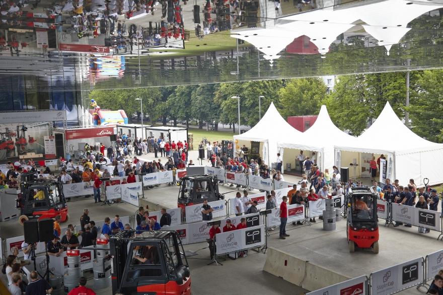 Linde 6. Staplercup 2013, Eventorganisation by KOOP Live Marketing Eventagentur in Steyregg/Linz