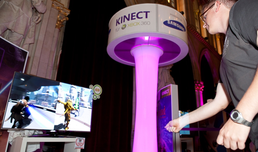 Microsoft Game City 2011, Messebau by KOOP Live Marketing Messen in Wien