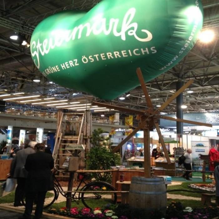 Steiermark Tourismus auf der Ferienmesse 2014, Messebau by KOOP Live Marketing Messen in Wien