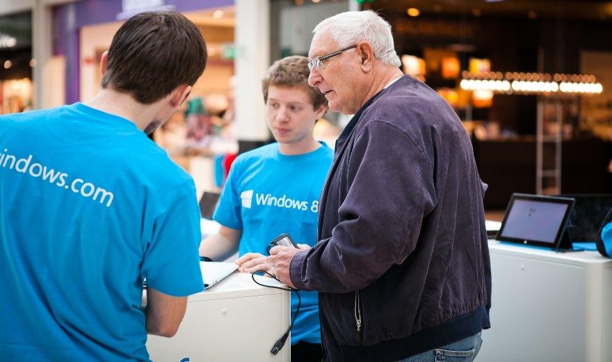 Microsoft Windows 8 Touch Tour, Brandland by KOOP Live Marketing Messen in Graz, Wien, Steyregg/Linz