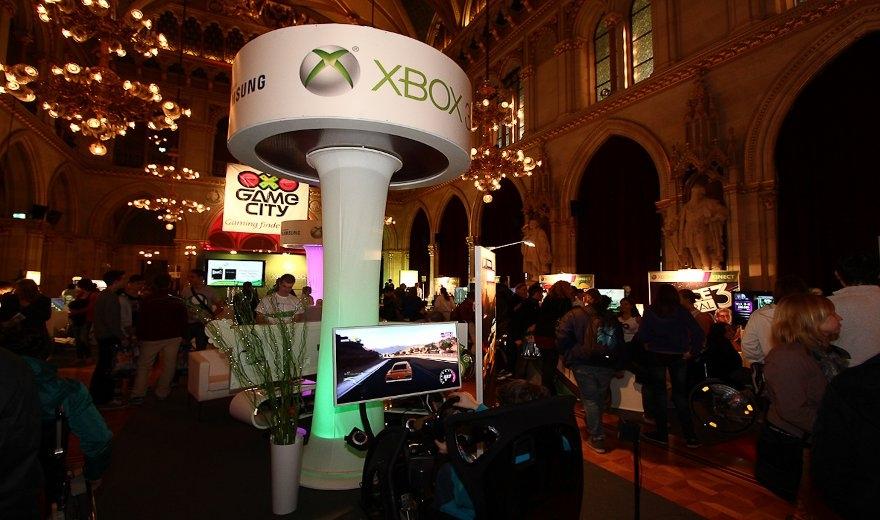 Microsoft Game City 2012, Brandland by KOOP Live Marketing Messen in Wien