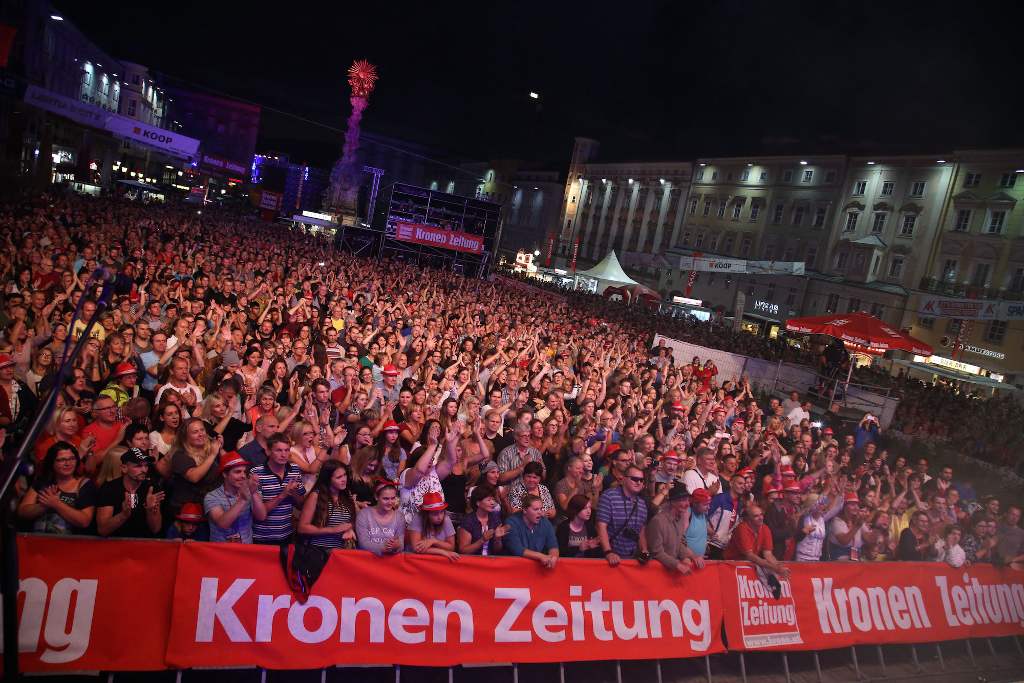 Linzer Kronefest 2015, Eventorganisation by KOOP Live Marketing Eventagentur in Steyregg/Linz