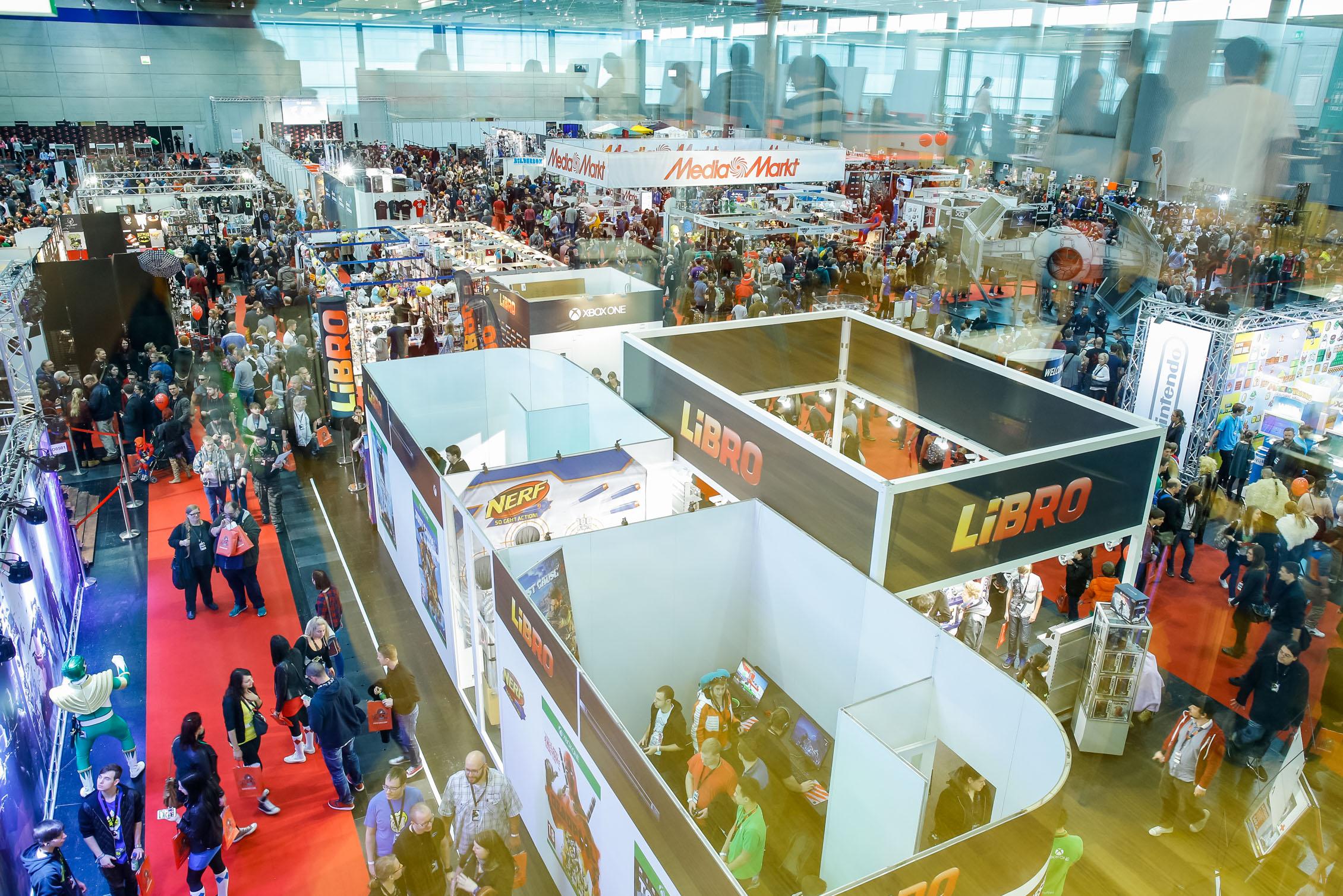 Libro Vienna Comic Con, Brandland by KOOP Live Marketing Messen in Wien