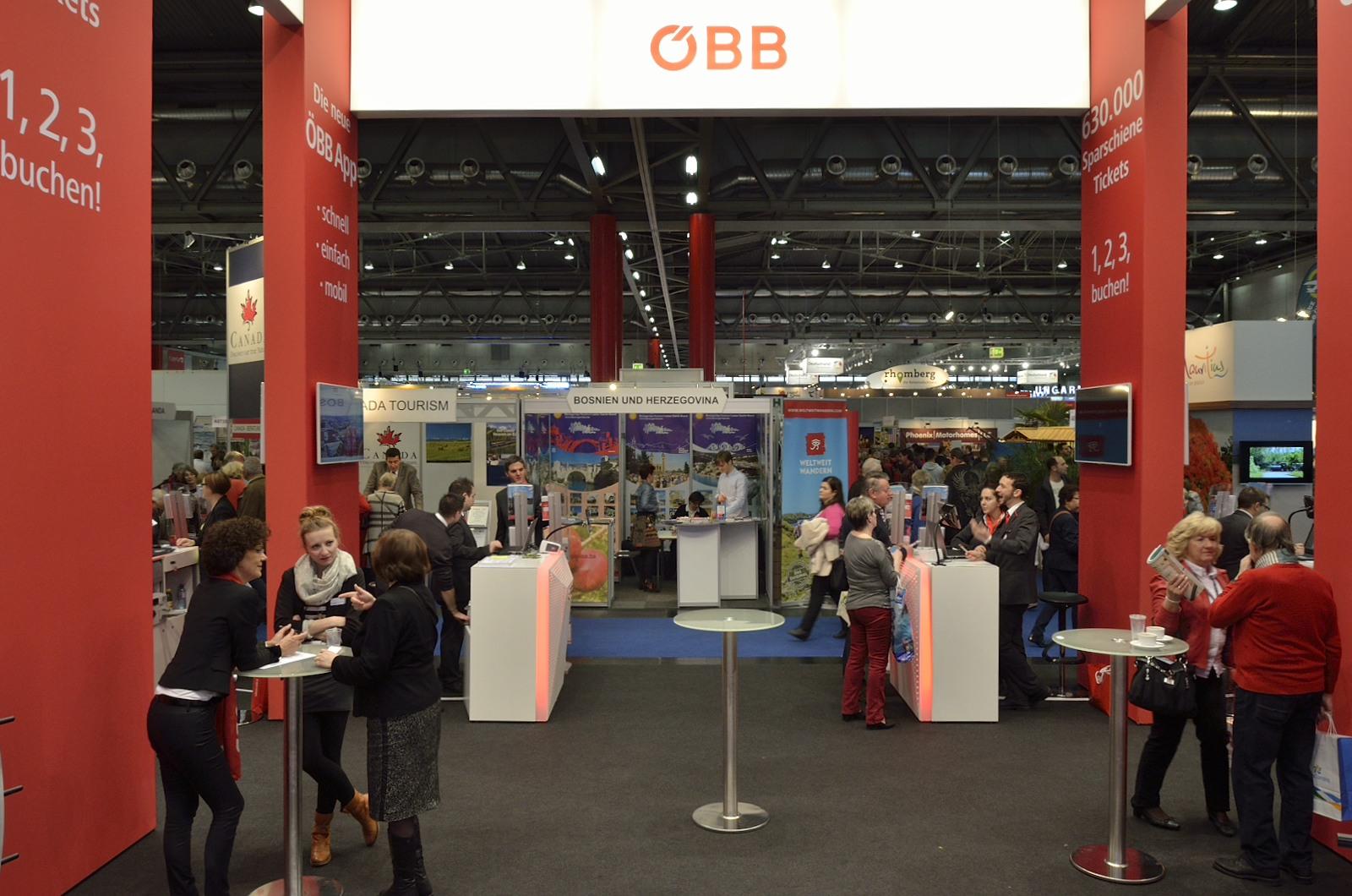 ÖBB Ferienmesse 2016, Messebau by KOOP Live Marketing Messen in Wien