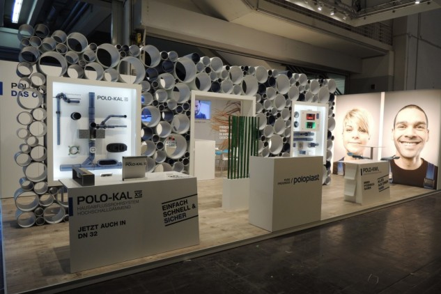 Poloplast SHK Essen, Messebau by KOOP Live Marketing Messen in Graz, Wien, Steyregg/Linz