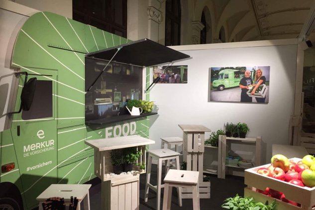 Merkur die Vorsicherung am Swiss Life Partnertag, Brandland by KOOP Live Marketing Messen in Wien