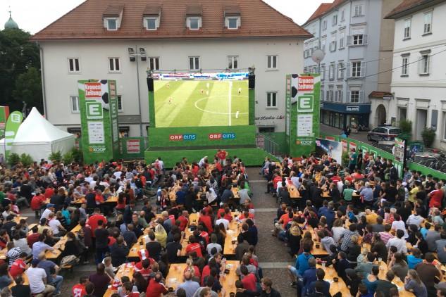 Krone Fanzone 2016, Eventorganisation by KOOP Live Marketing Eventagentur in Graz