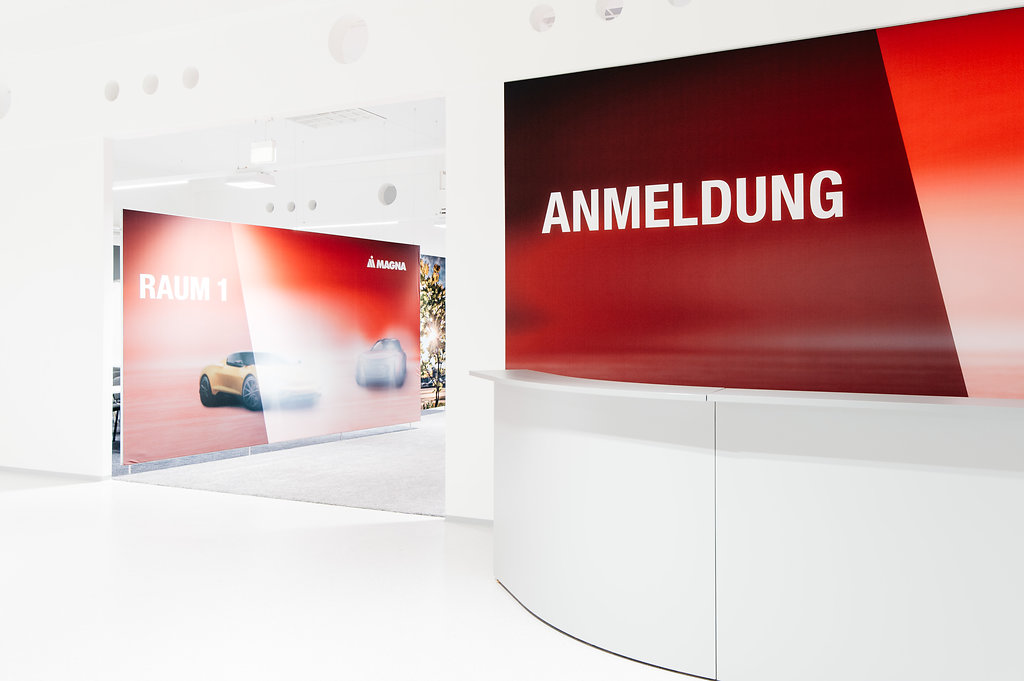 Magna Recruiting Center, Brandland / Showroom by KOOP Live Marketing Messen in Graz