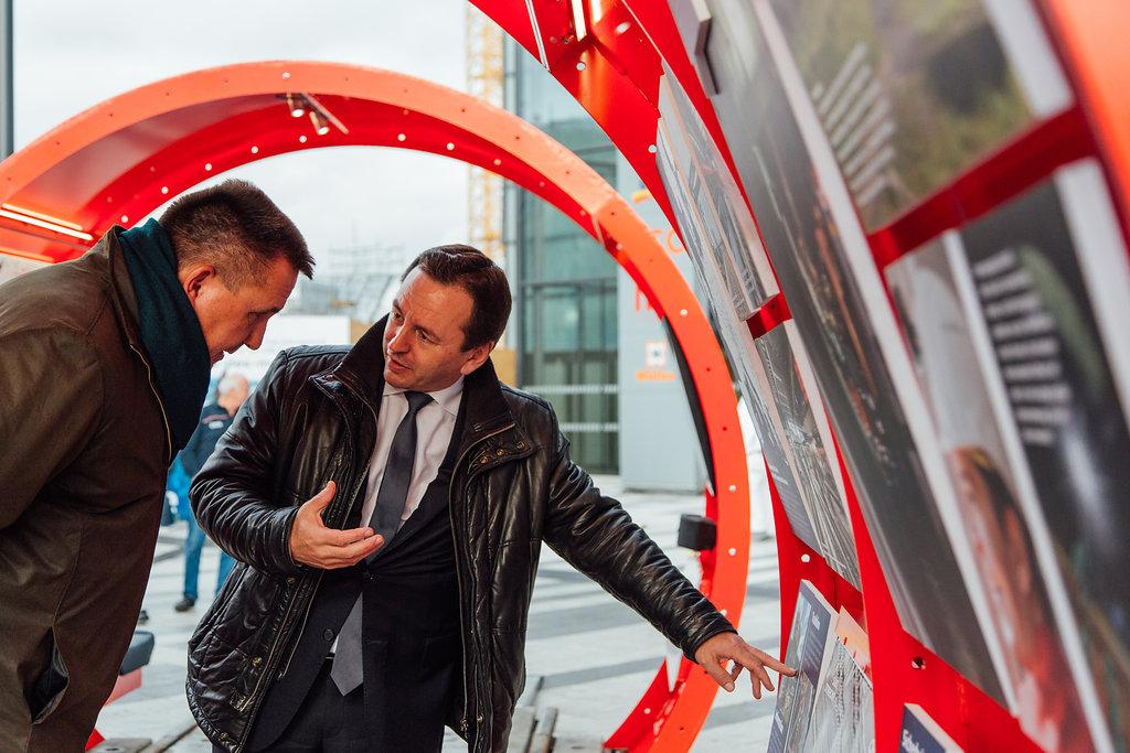 ÖBB InfoRail on Tour, Roadshow durchgeführt von KOOP Live Marketing Roadshows in Graz, Wien, Steyregg/Linz