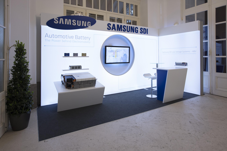Samsung SDI 2017, Messebau by KOOP Live Marketing Messen in Wien