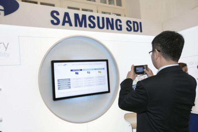 Samsung SDI 2017, Messebau by KOOP Live Marketing Messen in Wien