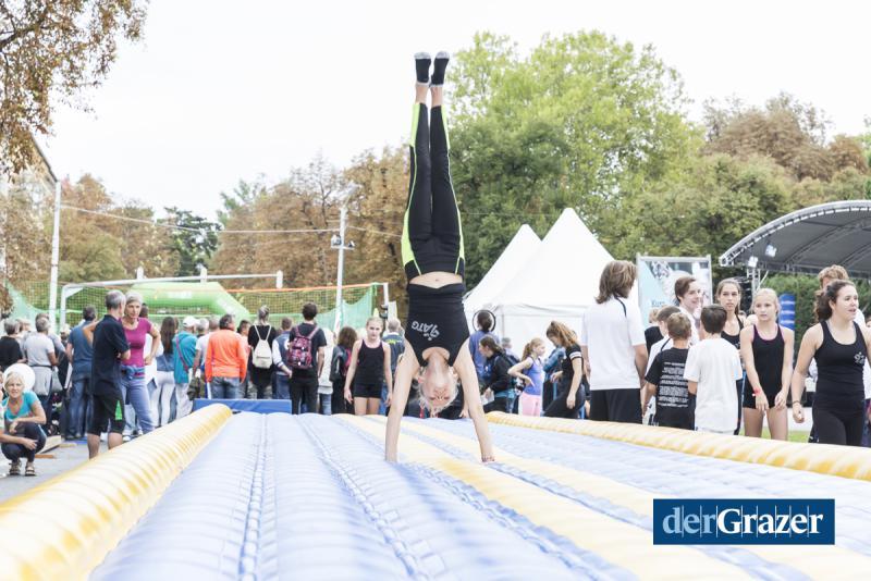 derGrazer Feiertag des Sports 2017, Eventorganisation by KOOP Live Marketing Eventagentur in Graz