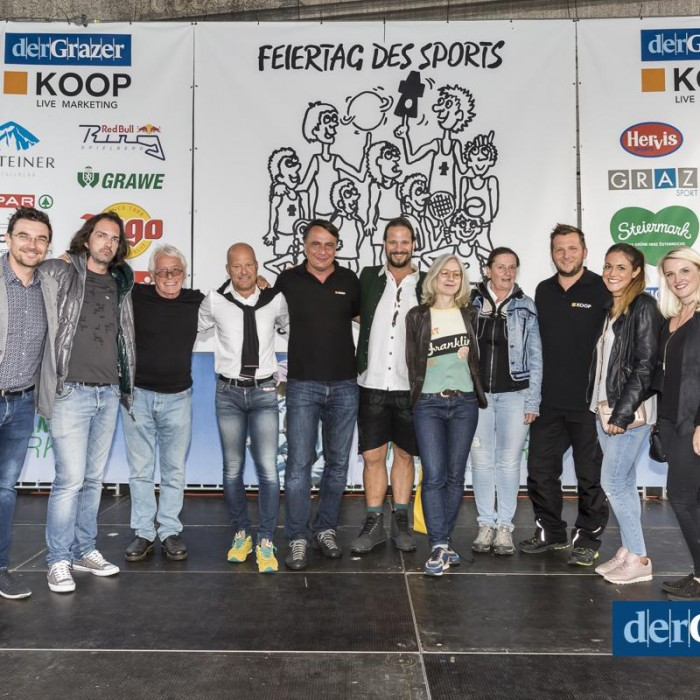 derGrazer Feiertag des Sports 2017, Eventorganisation by KOOP Live Marketing Eventagentur in Graz