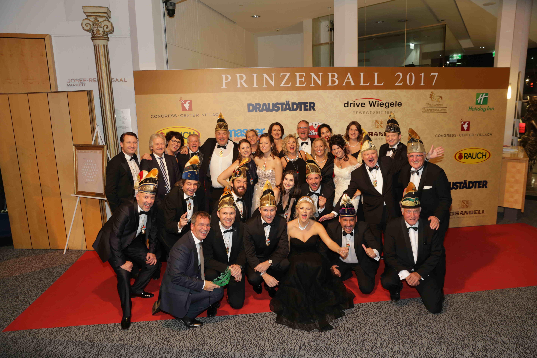 Villacher Prinzenball 2017, Eventorganisation by KOOP Live Marketing Eventagentur in Graz, Wien, Steyregg/Linz