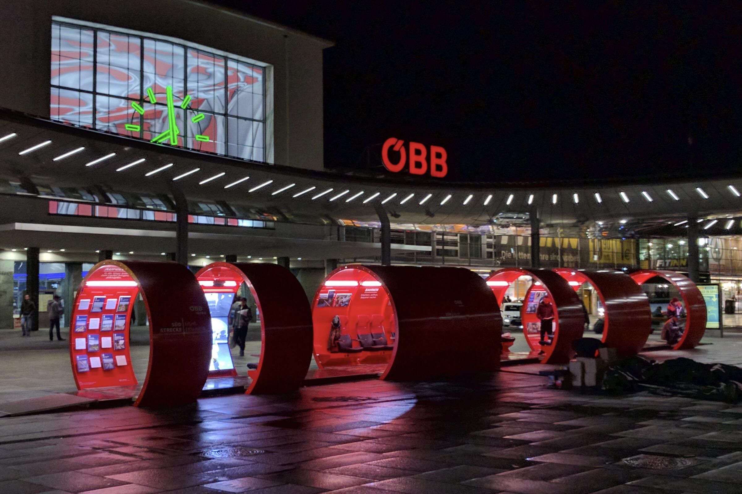 ÖBB on Tour, Roadshow durchgeführt von KOOP Live Marketing Roadshows Graz, Wien, Steyregg/Linz