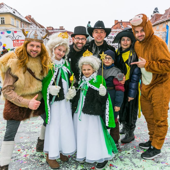 Kleine Zeitung Fasching 2018, Eventorganisation by KOOP Live Marketing Eventagentur in Graz