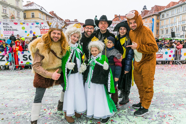 Kleine Zeitung Fasching 2018, Eventorganisation by KOOP Live Marketing Eventagentur in Graz