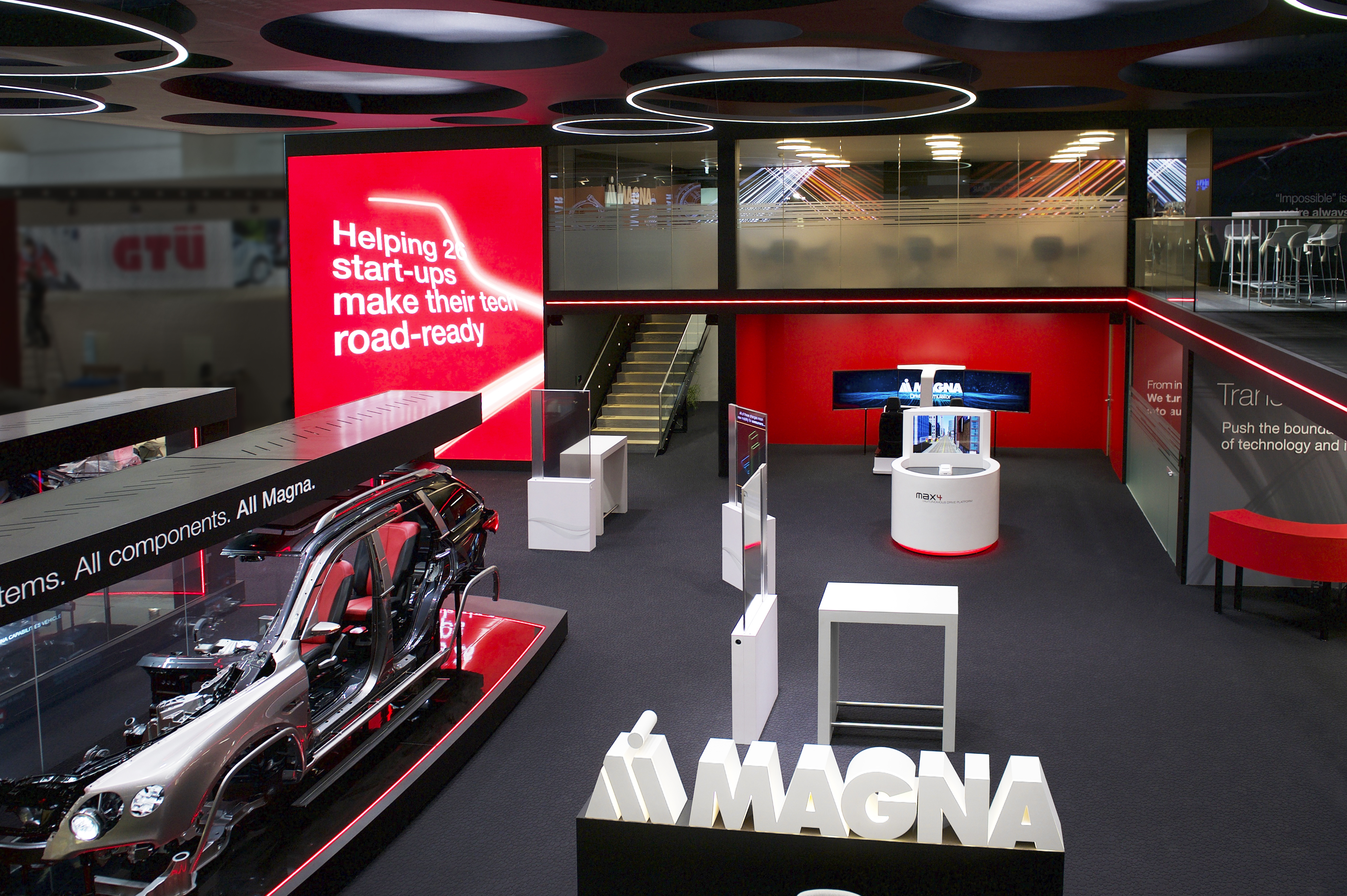 Magna International auf der IAA, Messebau by KOOP Live Marketing Messen in Graz, Wien, Steyregg/Linz