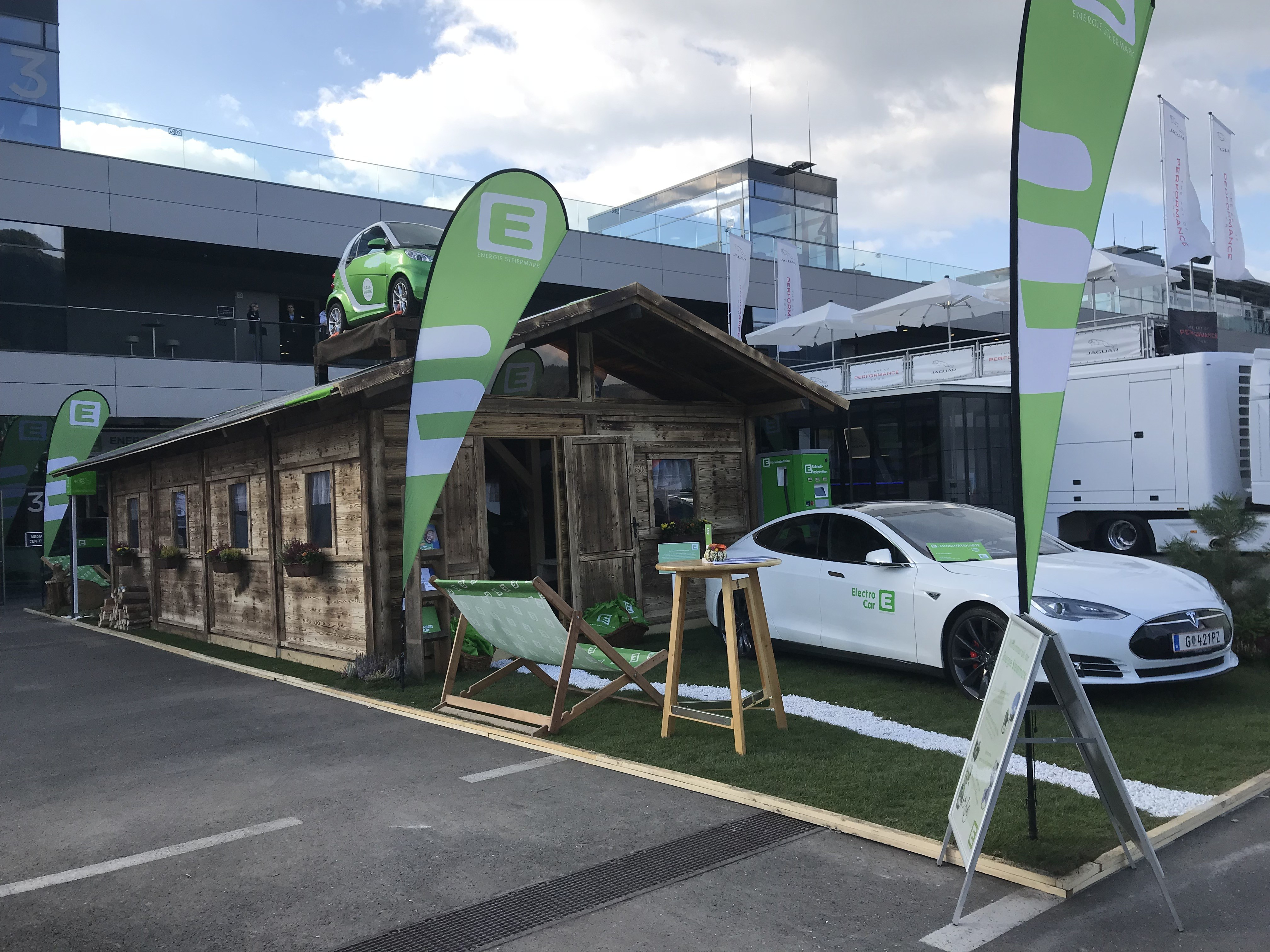 Energie Steiermark bei den Krone E-Mobility Play Days 2018, Brandland by KOOP Live Marketing Messen in Graz