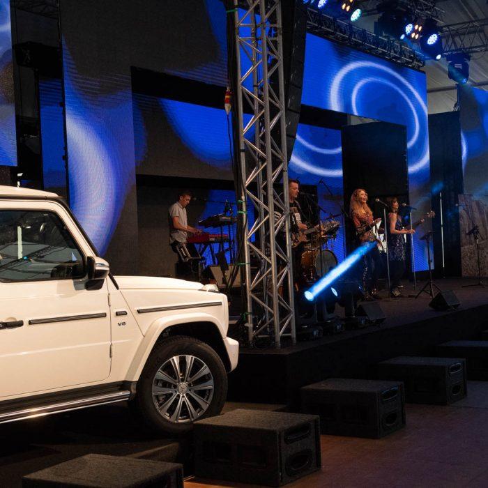 Magna Mercedes G Start of Production Party, Eventorganisation by KOOP Live Marketing Eventagentur in Graz