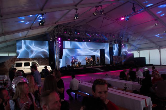 Magna Mercedes G Start of Production Party, Eventorganisation by KOOP Live Marketing Eventagentur in Graz