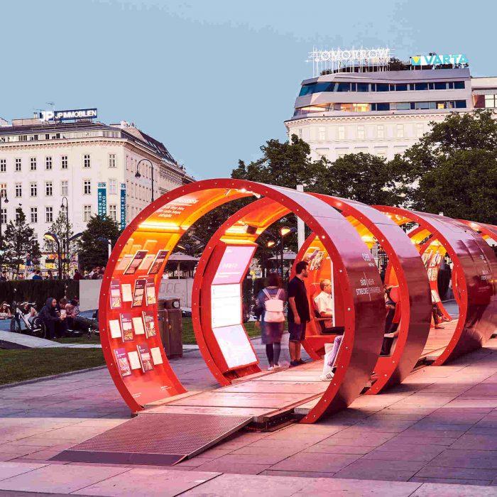 ♥♥ÖBB on Tour, Roadshow durchgeführt von KOOP Live Marketing Roadshows Graz, Wien, Steyregg/Linz