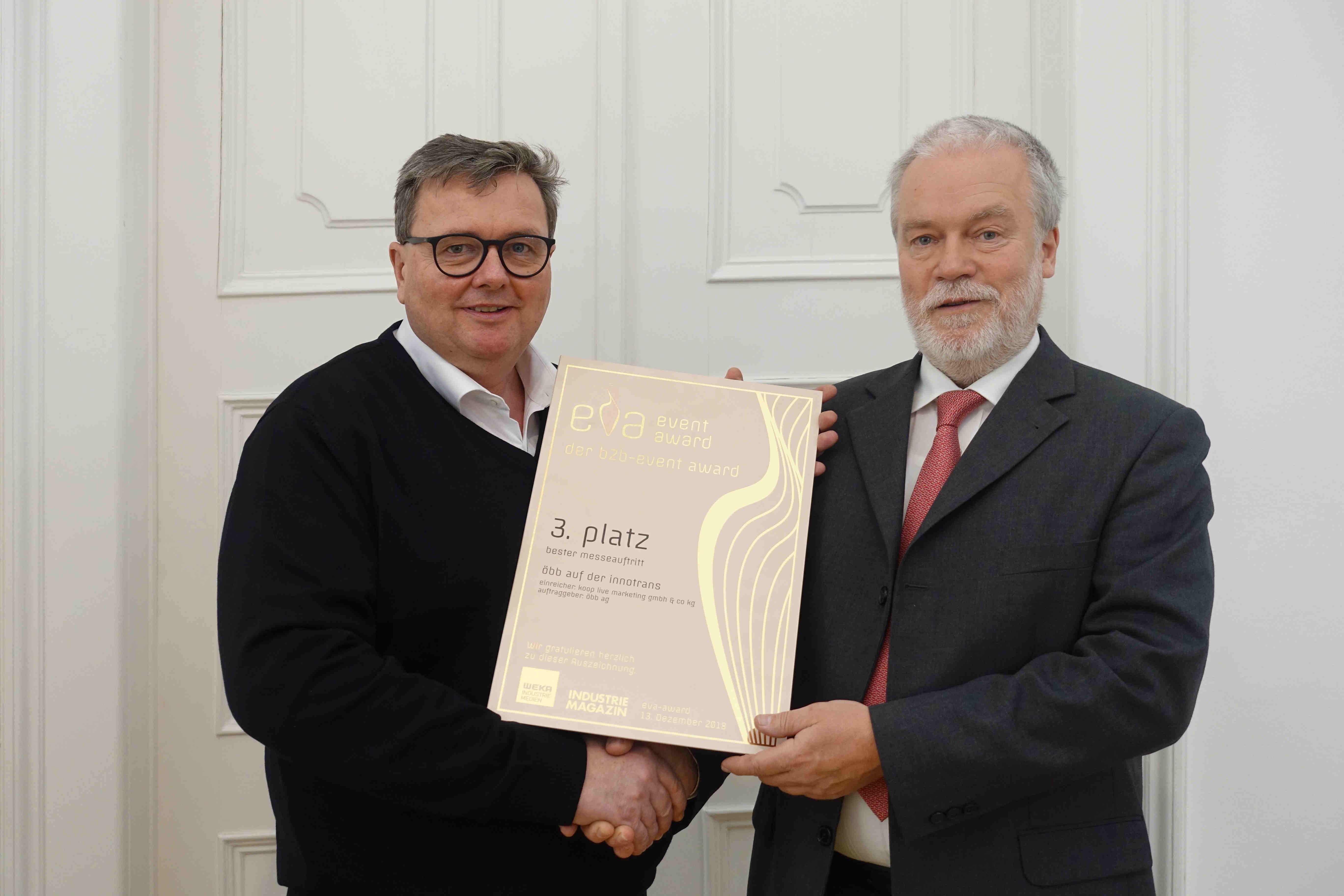 EVA Award 2018_Dieter Recknagl_KOOP Live Marketing