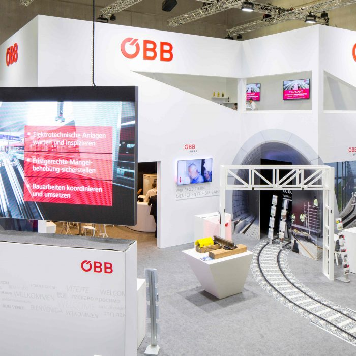 ÖBB Gruppe, InnoTrans Berlin 2018, KOOP Live Marketing, Messebau